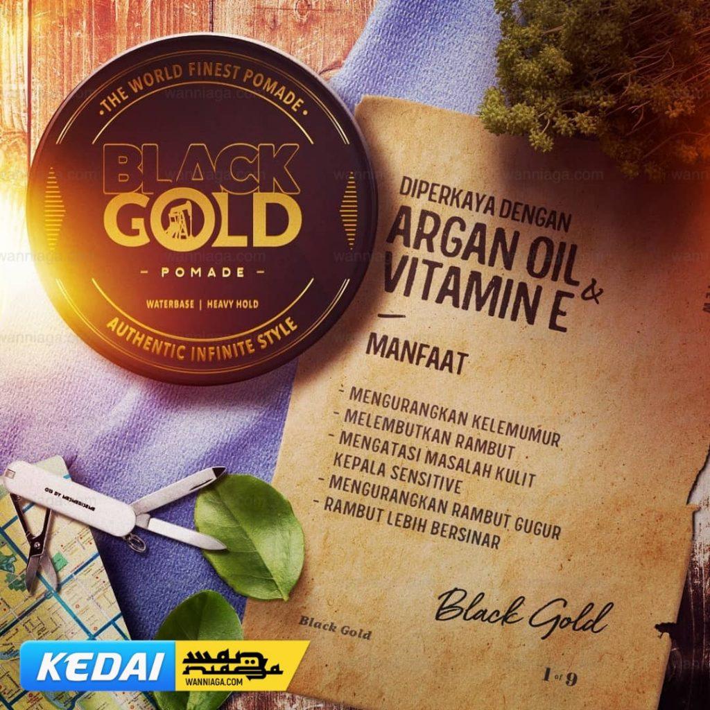 3+1 HADIAH dengan setiap Pembelian Black Gold Pomade! 2