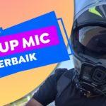Setup Microphone GoPro Terbaik untuk Flip Up Helmet